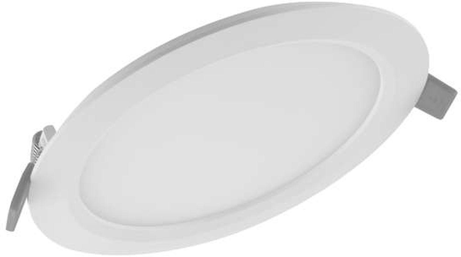 Встраиваемый светильник Ledvance Osram Downlight Slim DLR, 9 Вт, 540 Лм, 3000 К, Без цоколя недорго, оригинальная цена