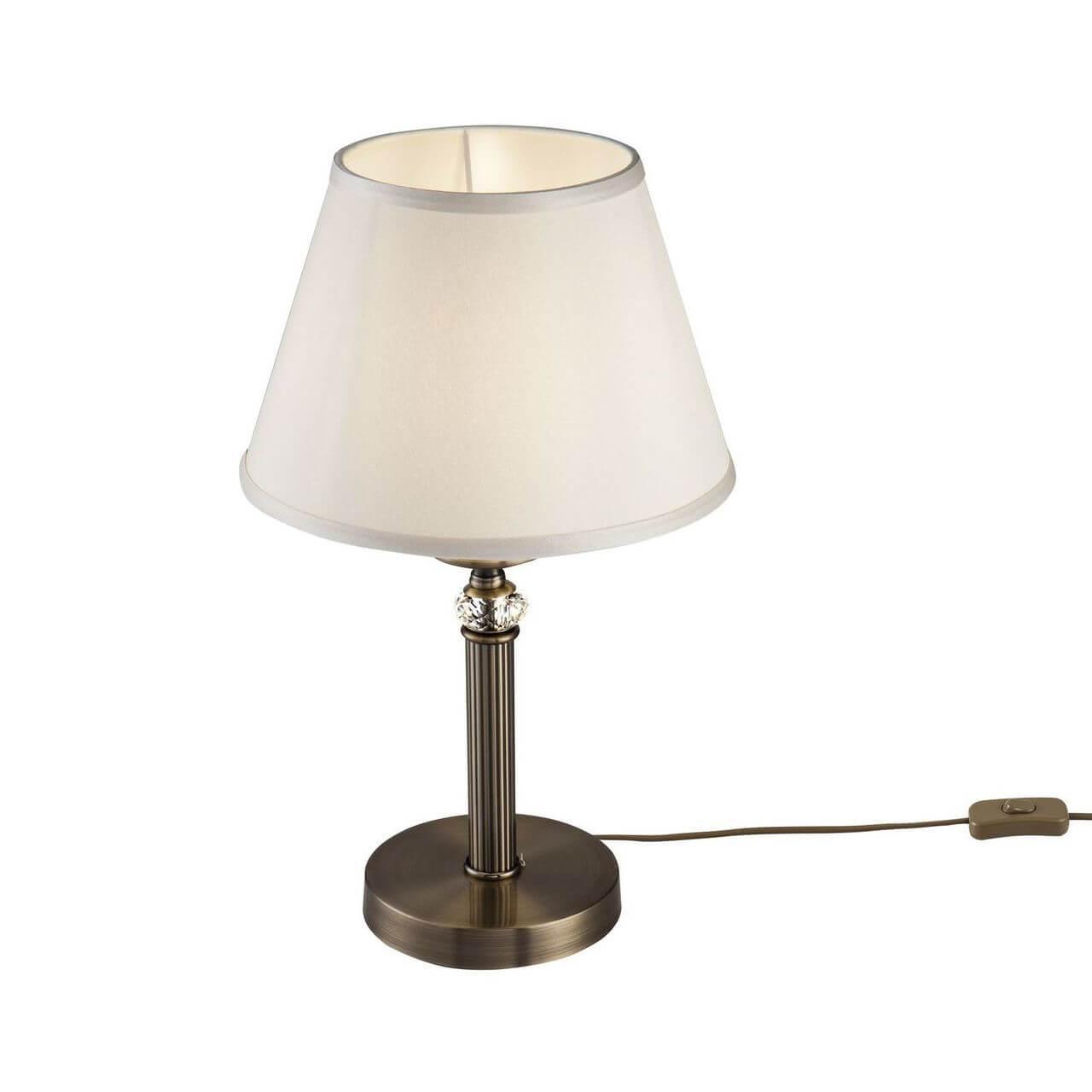 цены на Настольный светильник Freya FR2016TL-01BZ, E14, 40 Вт  в интернет-магазинах