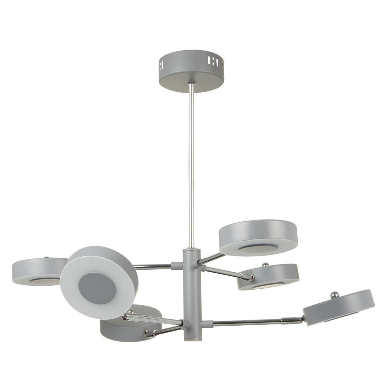 цены на Потолочный светильник Freya FR6009PL-L66GR, LED, 66 Вт  в интернет-магазинах