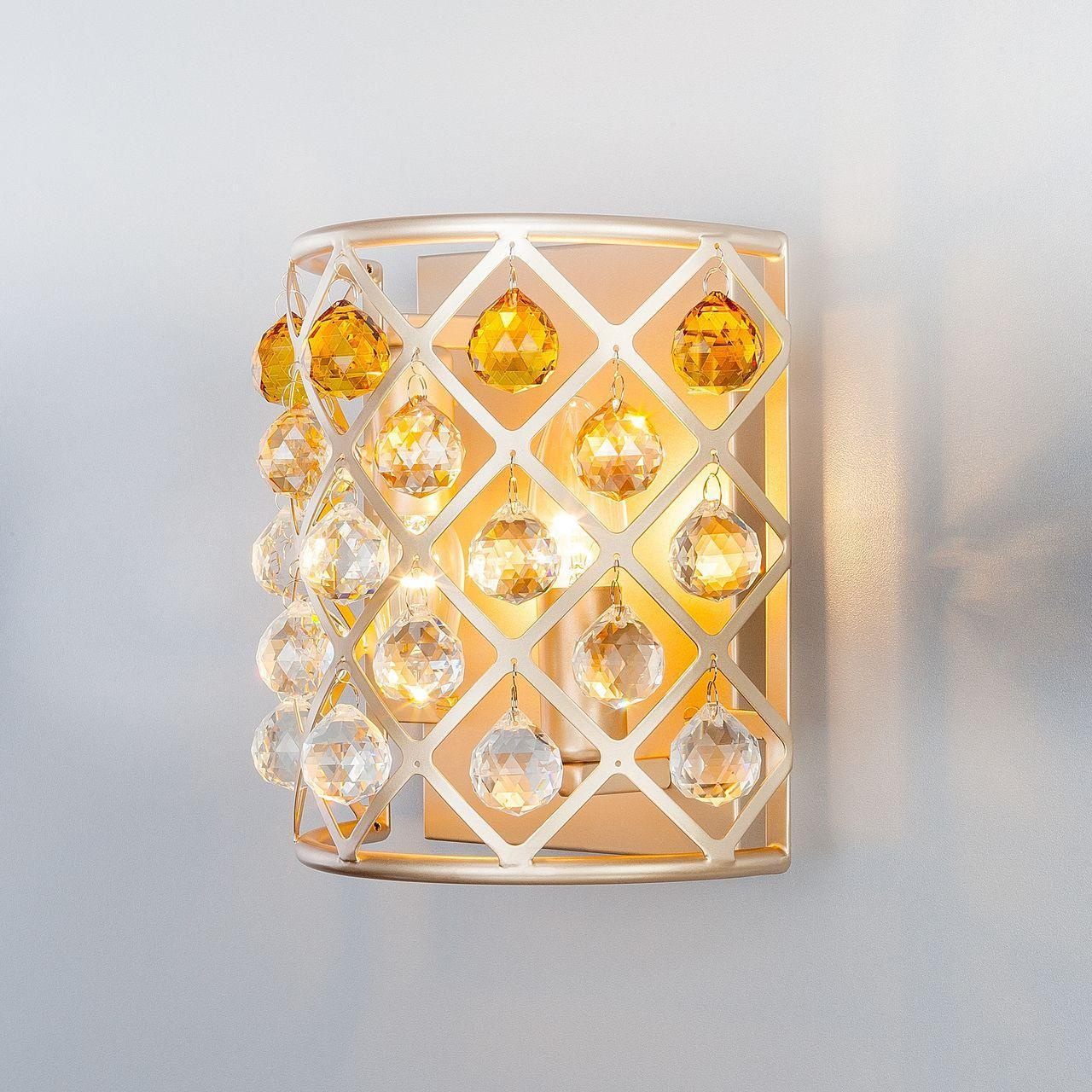 Настенный светильник Bogates 307/2 Strotskis, E14, 60 Вт цены