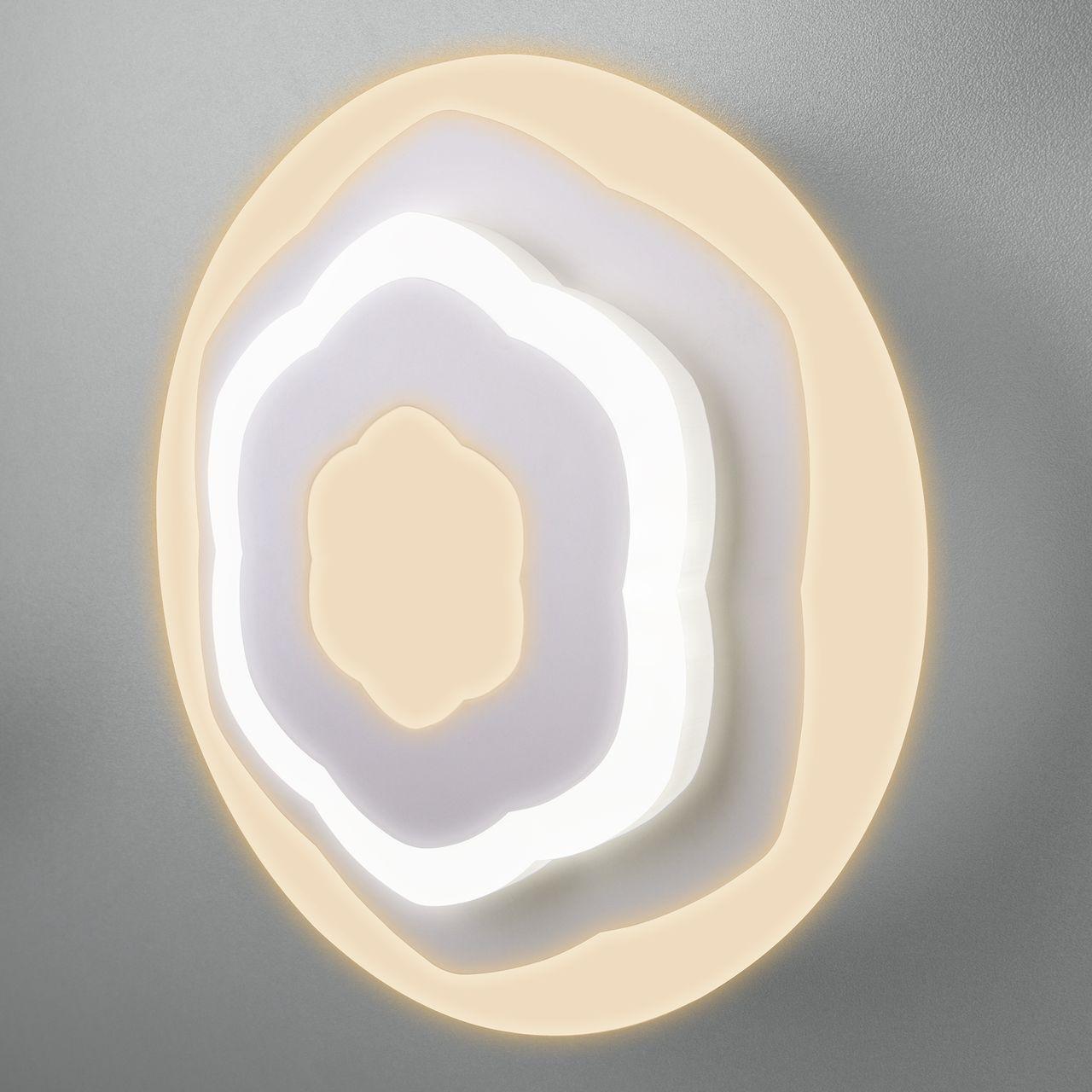 Настенный светильник EUROSVET 90117/2, LED, 16 Вт eurosvet los 366