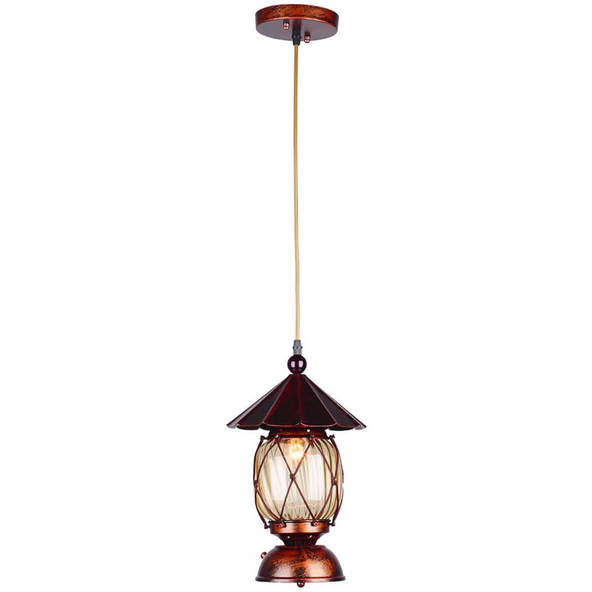 Подвесной светильник Omnilux OML-58306-01, E27, 40 Вт