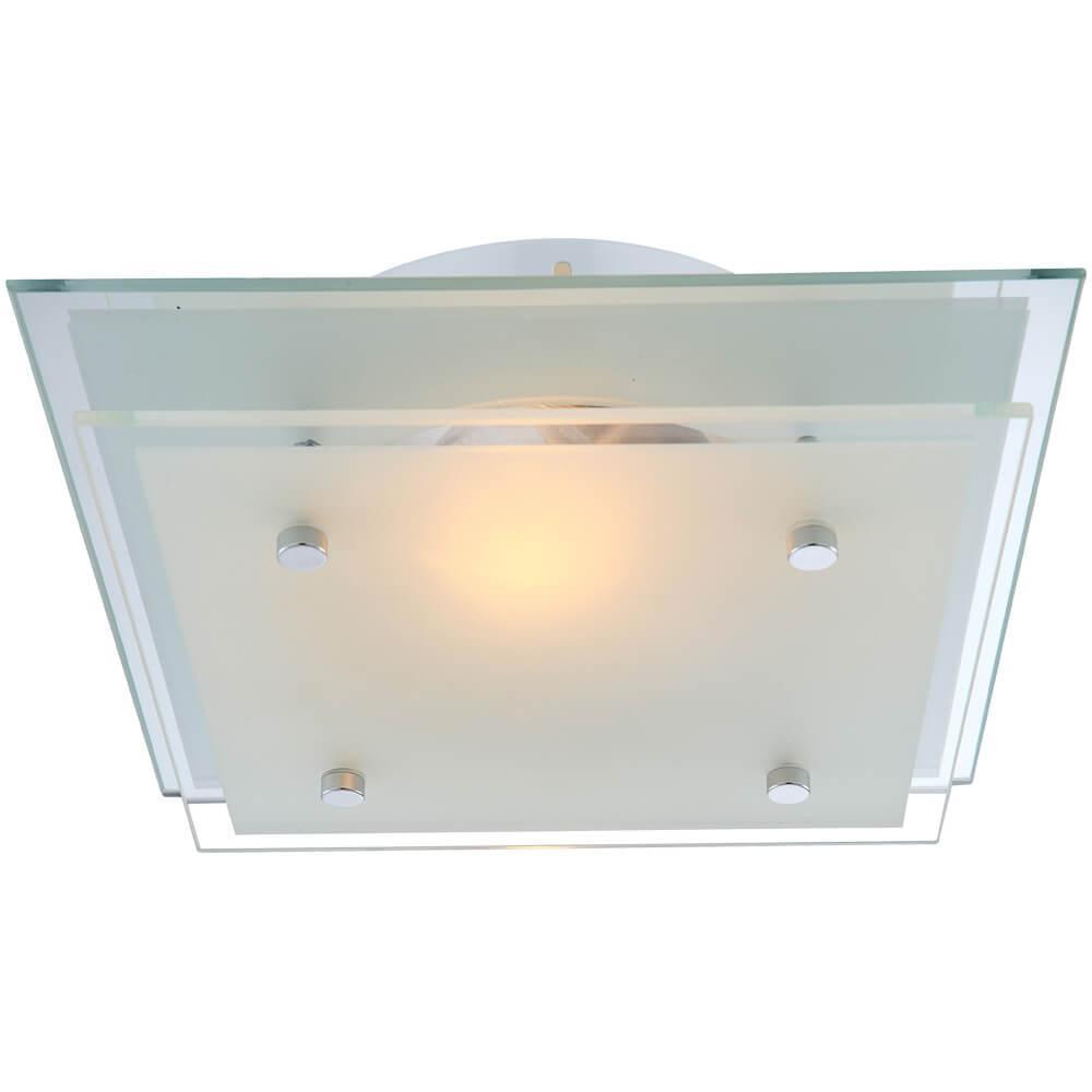 Настенно-потолочный светильник Globo 48168, E27, 60 Вт настенно потолочный светильник globo new 56223 3 серый металлик