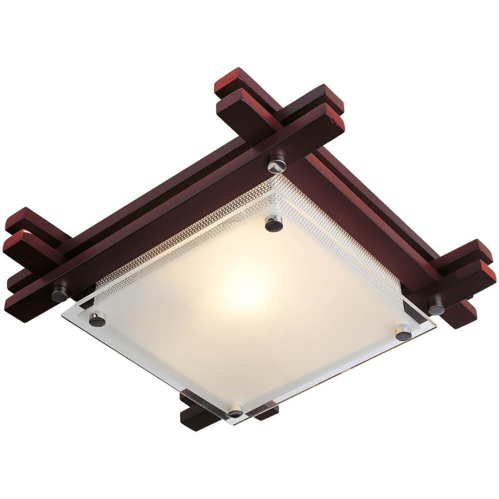 Настенно-потолочный светильник Globo 48324, E27, 60 Вт настенно потолочный светильник globo new 56223 3 серый металлик