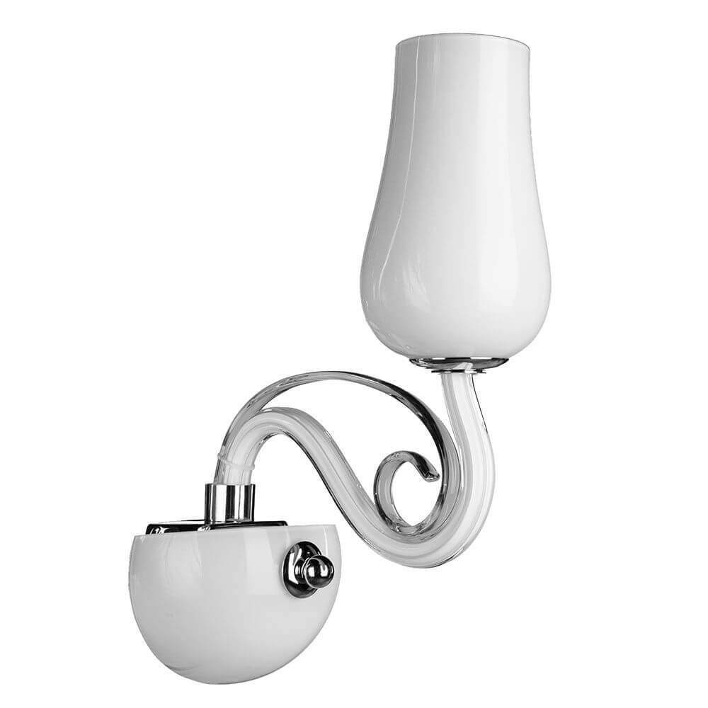 лучшая цена Бра Arte Lamp A8110AP-1WH, E14, 40 Вт