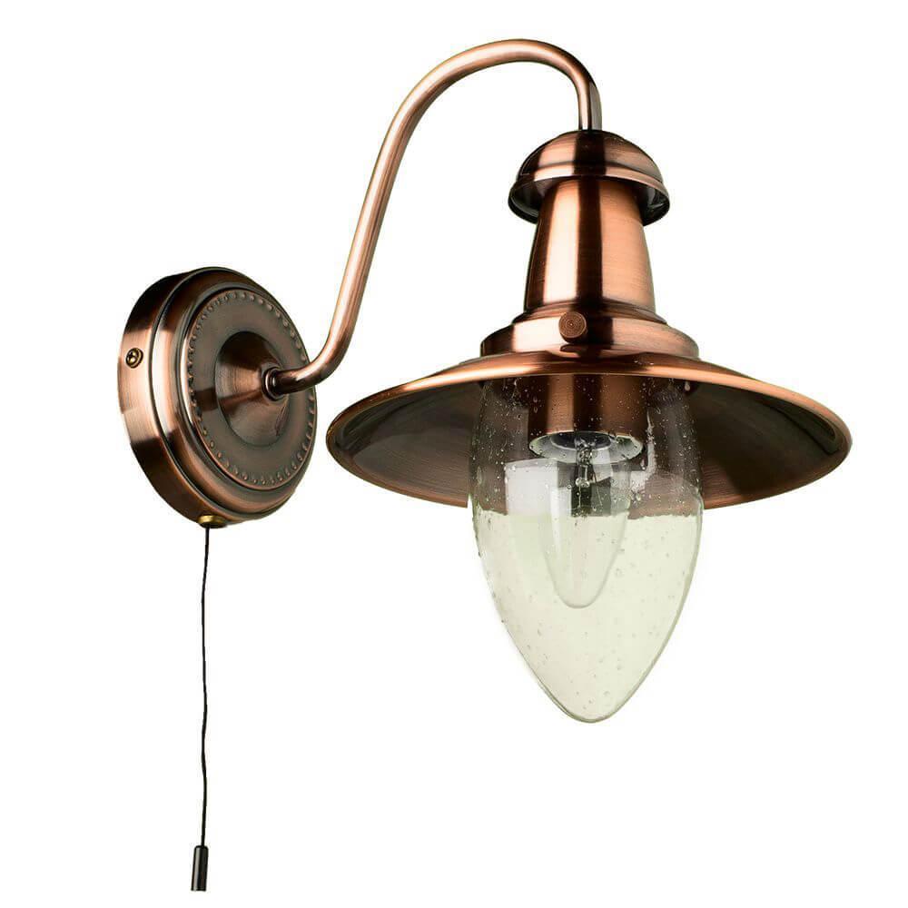 Бра Arte Lamp A5518AP-1RB, E27, 60 Вт бра arte lamp fisherman a5518ap 1ab