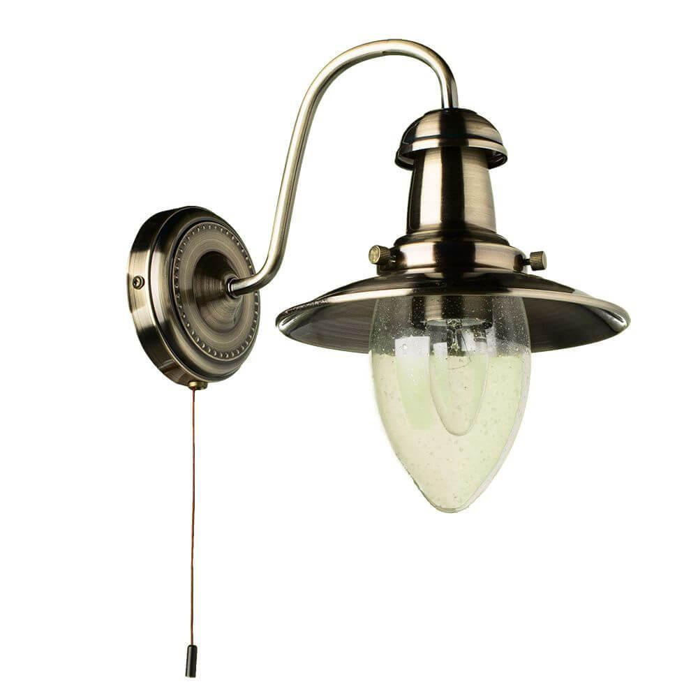 Бра Arte Lamp A5518AP-1AB, E27, 60 Вт