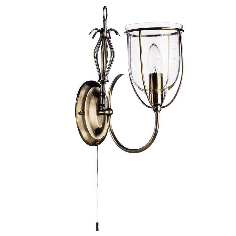 Бра Arte Lamp A6351AP-1AB, E14, 60 Вт arte lamp спот arte lamp 43 a2054ap 1ab