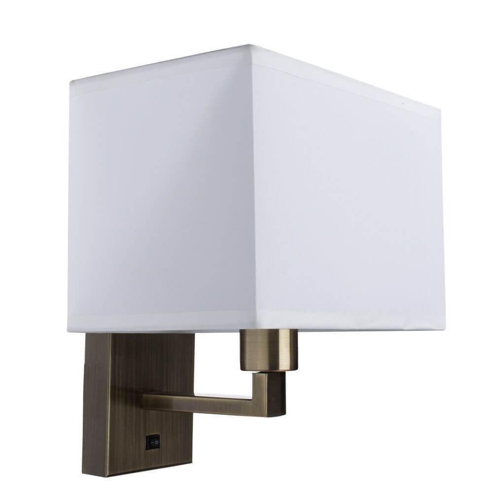 Бра Arte Lamp A9248AP-1AB, E27, 40 Вт цена