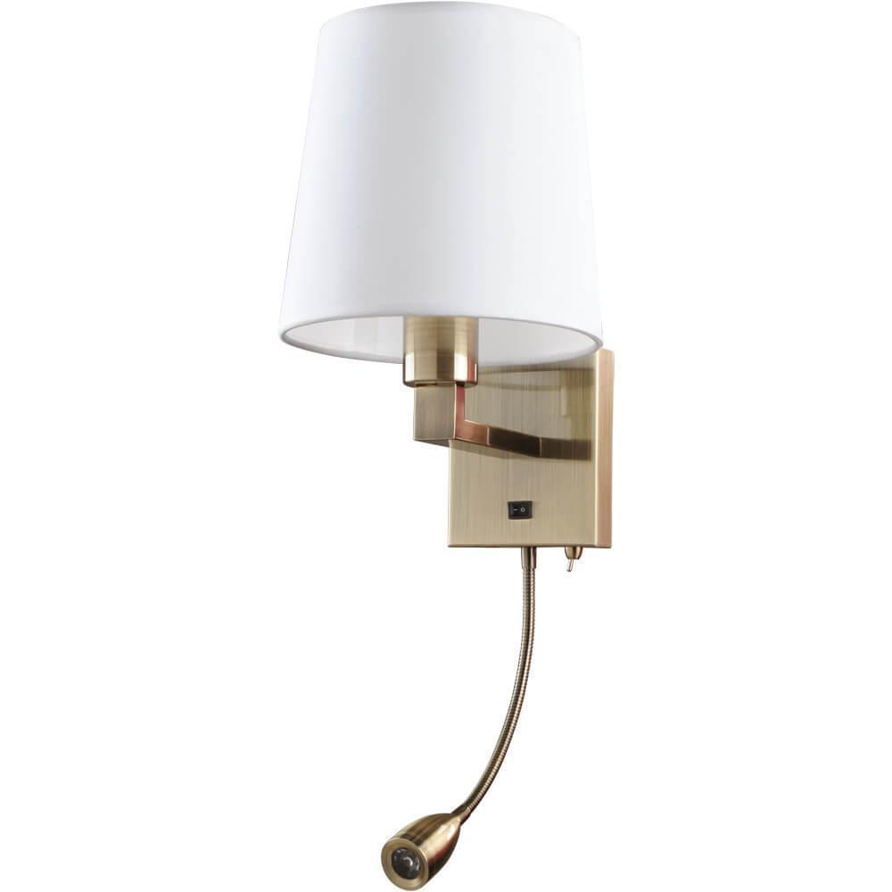 Бра Arte Lamp A9246AP-2AB, E27, 40 Вт arte lamp hall a9246ap 2ss