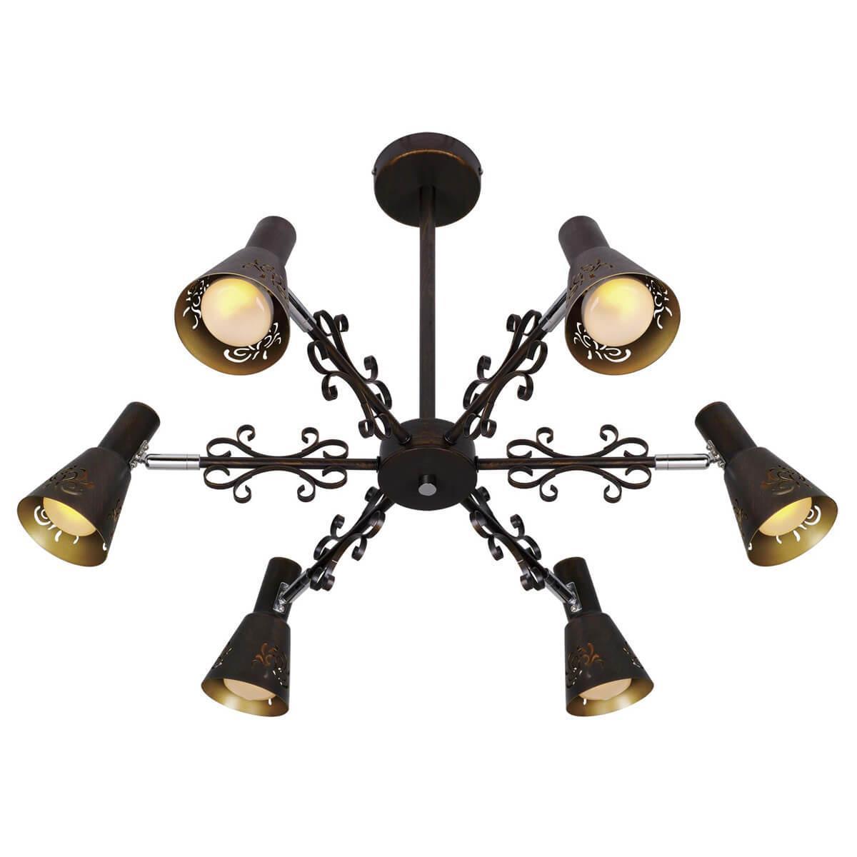 Потолочный светильник CITILUX CL529161, E14, 60 Вт спот citilux дункан cl529522