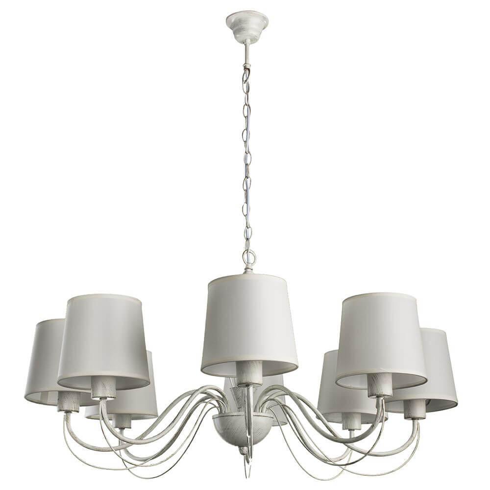 Подвесной светильник Arte Lamp A9310LM-8WG, E27, 40 Вт подвесной светильник arte lamp a9310lm 3wg e27 40 вт