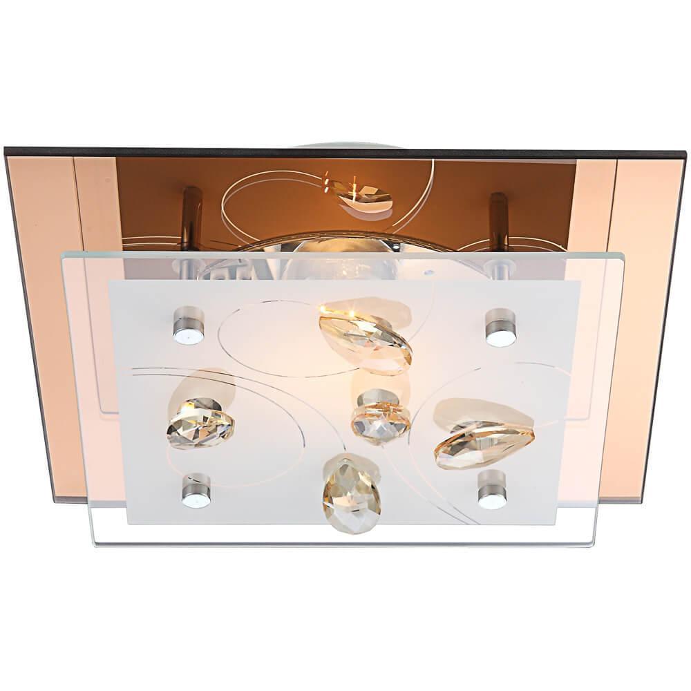 Накладной светильник Globo 40412, E27, 40 Вт накладной светильник globo sammy 76003