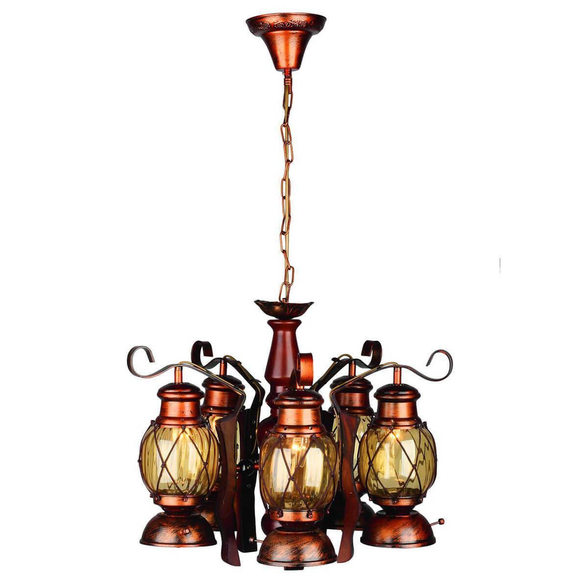 Подвесной светильник Omnilux OML-58303-05, E27, 40 Вт