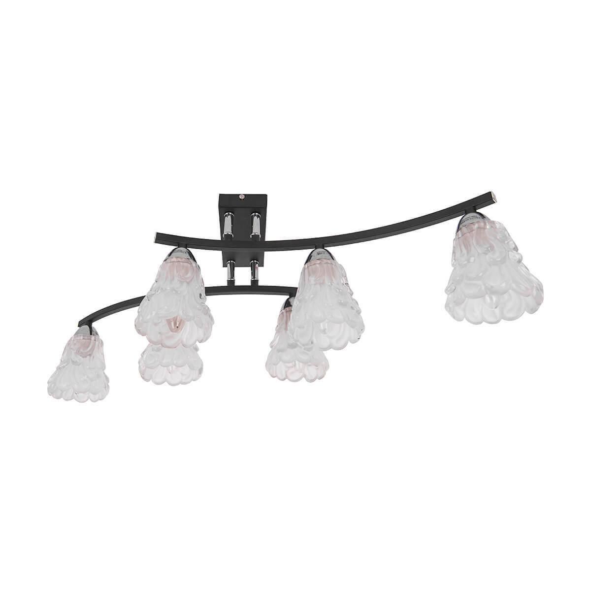 Потолочный светильник IDLamp 217/6PF-Blackchrome, E14, 60 Вт цена в Москве и Питере