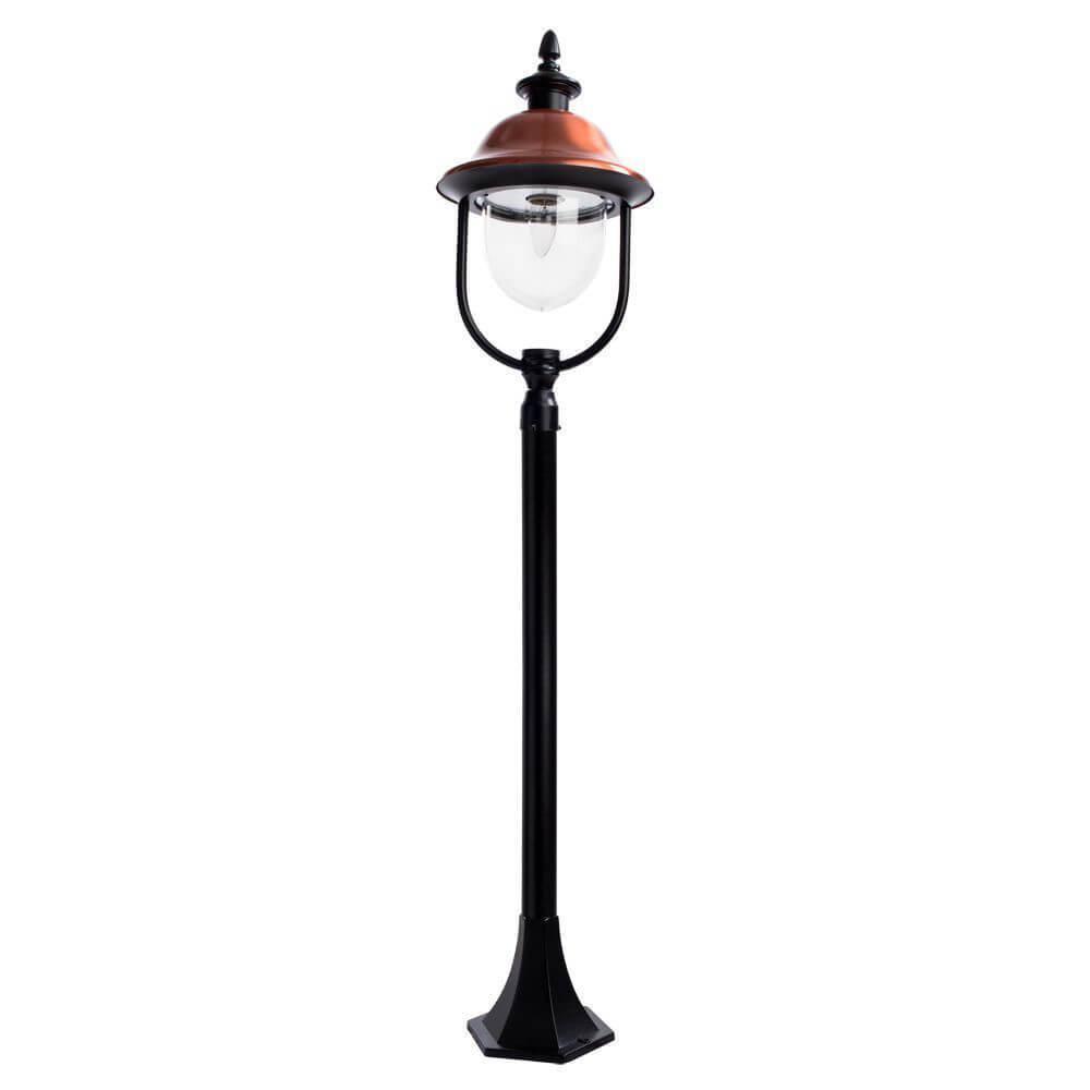 Уличный светильник Arte Lamp A1486PA-1BK, E27 цена