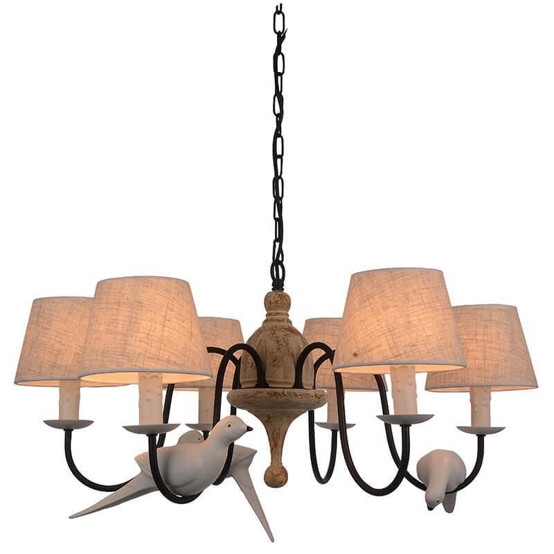 Подвесной светильник Favourite 1594-6P, E14, 40 Вт