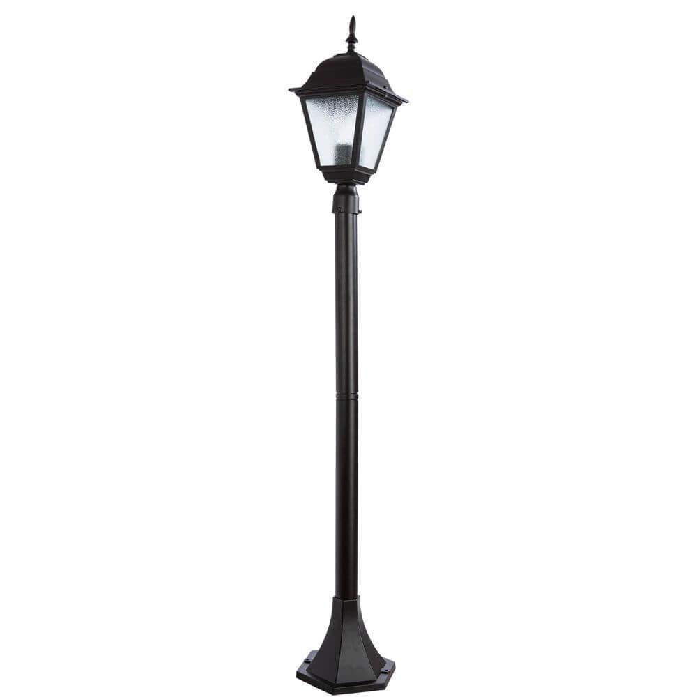 Уличный светильник Arte Lamp A1016PA-1BK, E27 arte lamp a9518pl 2ba