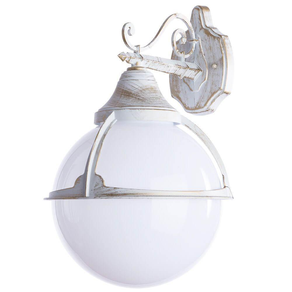 Уличный светильник Arte Lamp A1492AL-1WG, E27 уличный светильник arte lamp amsterdam a1523pa 1wg