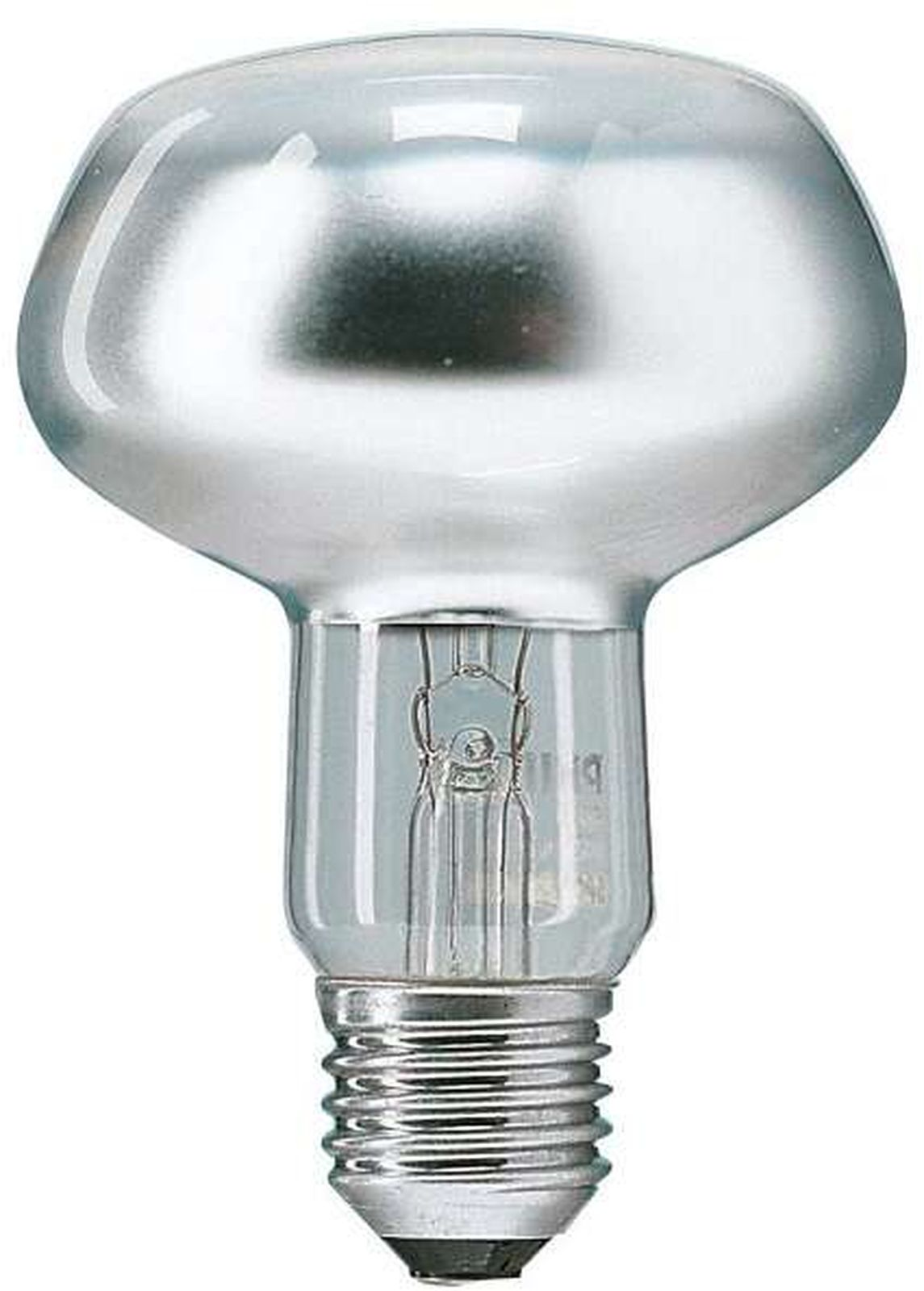 Лампочка Philips Refl, Теплый свет 75 Вт, Накаливания лампа philips spot r80 75вт e27 230в рефлект 25d