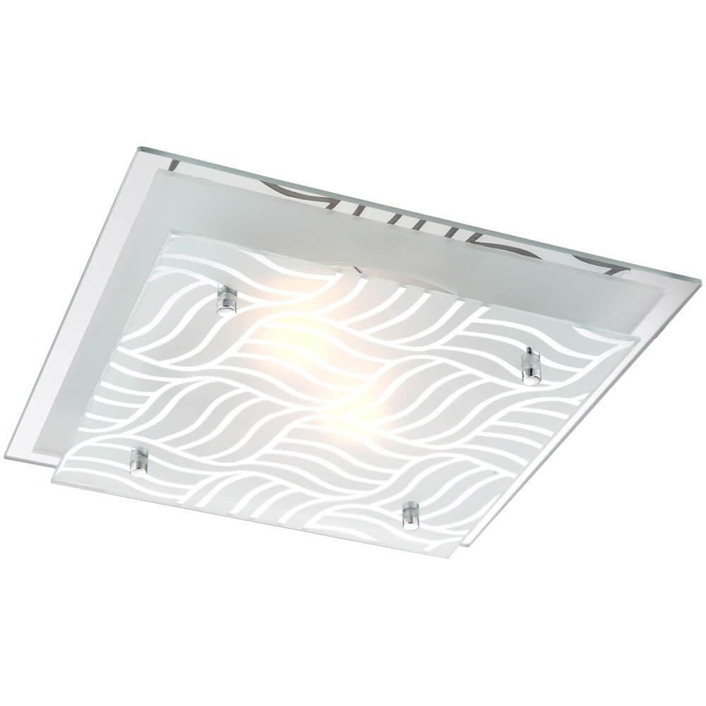 Настенно-потолочный светильник Globo 48161-2, E27, 40 Вт потолочный светильник globo marie i 48161 2