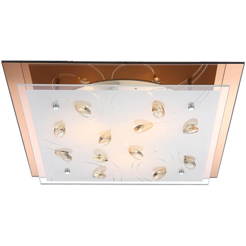 Накладной светильник Globo 40412-3, E27, 40 Вт накладной светильник globo claire 48077