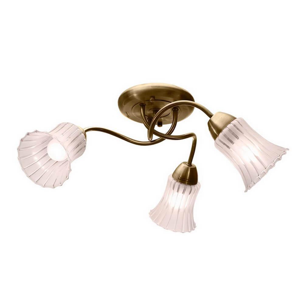 Потолочный светильник IDLamp 245/3PF-Oldbronze, E27, 60 Вт все цены