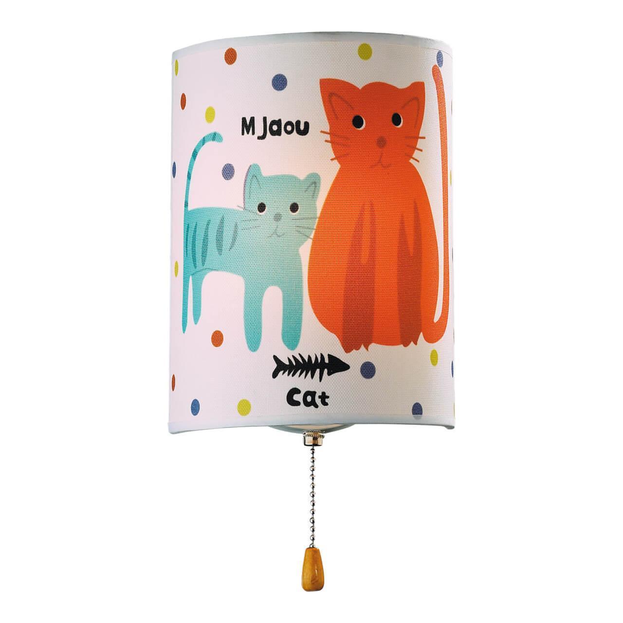Настенный светильник Odeon Light 2279/1W, E14, 40 Вт настенный светильник odeon light cats 2279 1w