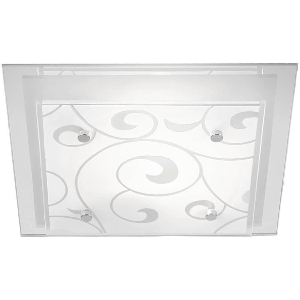 Настенно-потолочный светильник Globo 48062-2, E27, 60 Вт настенно потолочный светильник globo new 56223 3 серый металлик