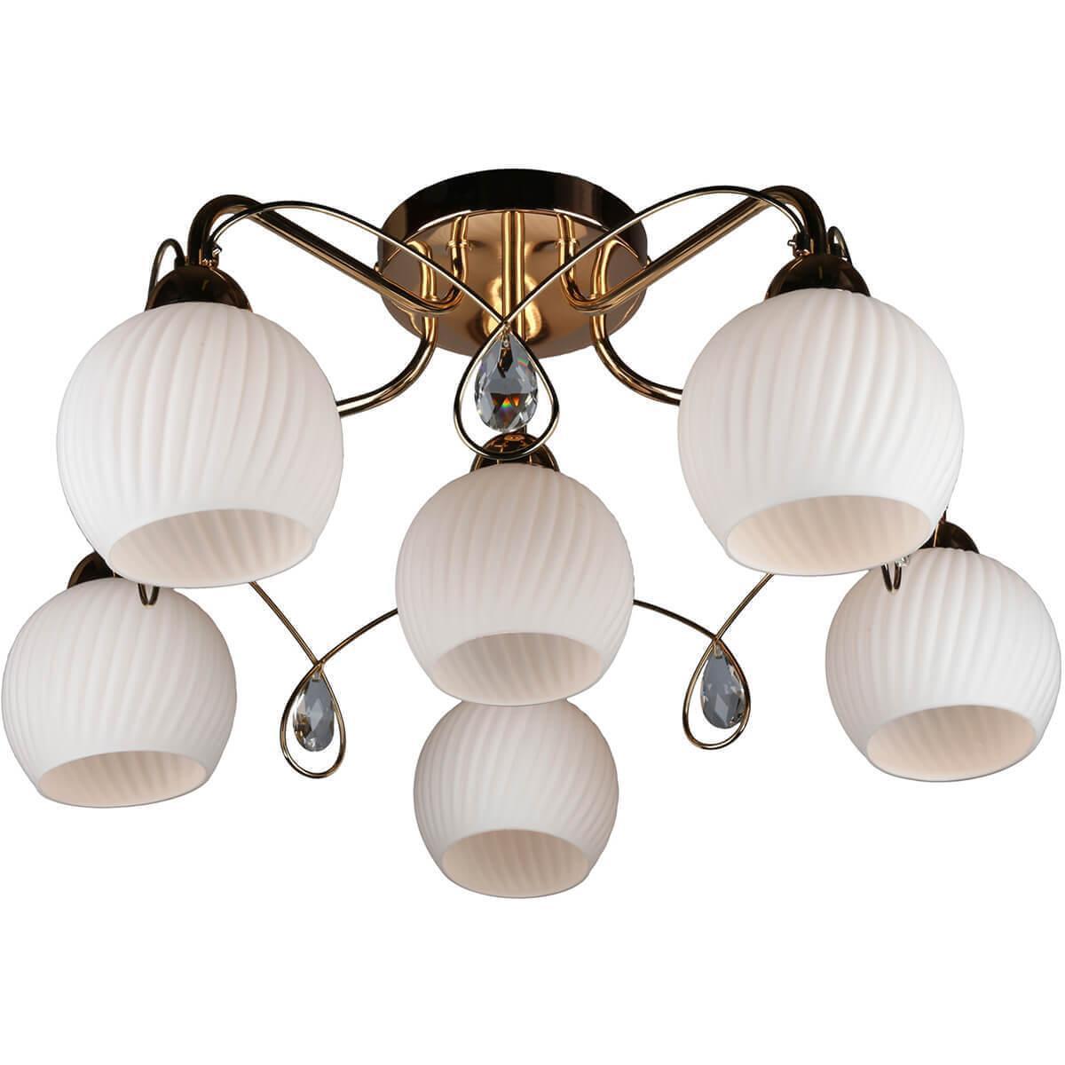 Потолочный светильник Omnilux OML-31907-06, E14, 60 Вт
