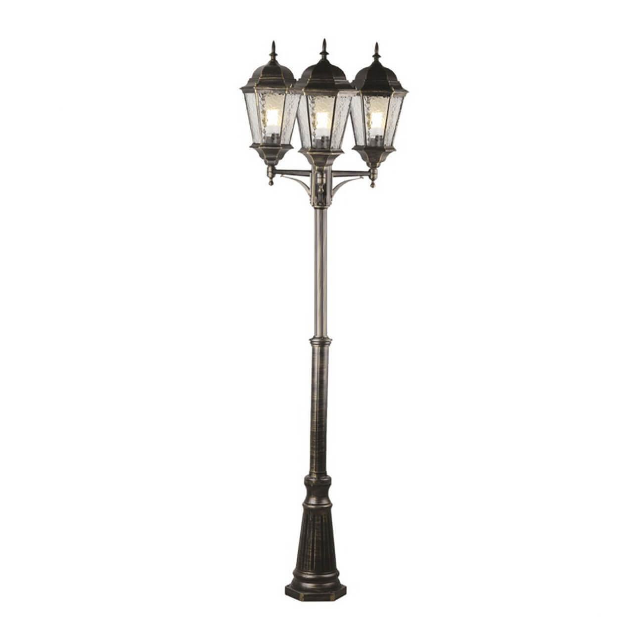 Садово-парковый светильник Arte Lamp Genova A1207PA-3BN садово парковый светильник arte lamp berlin a1017pa 1wg