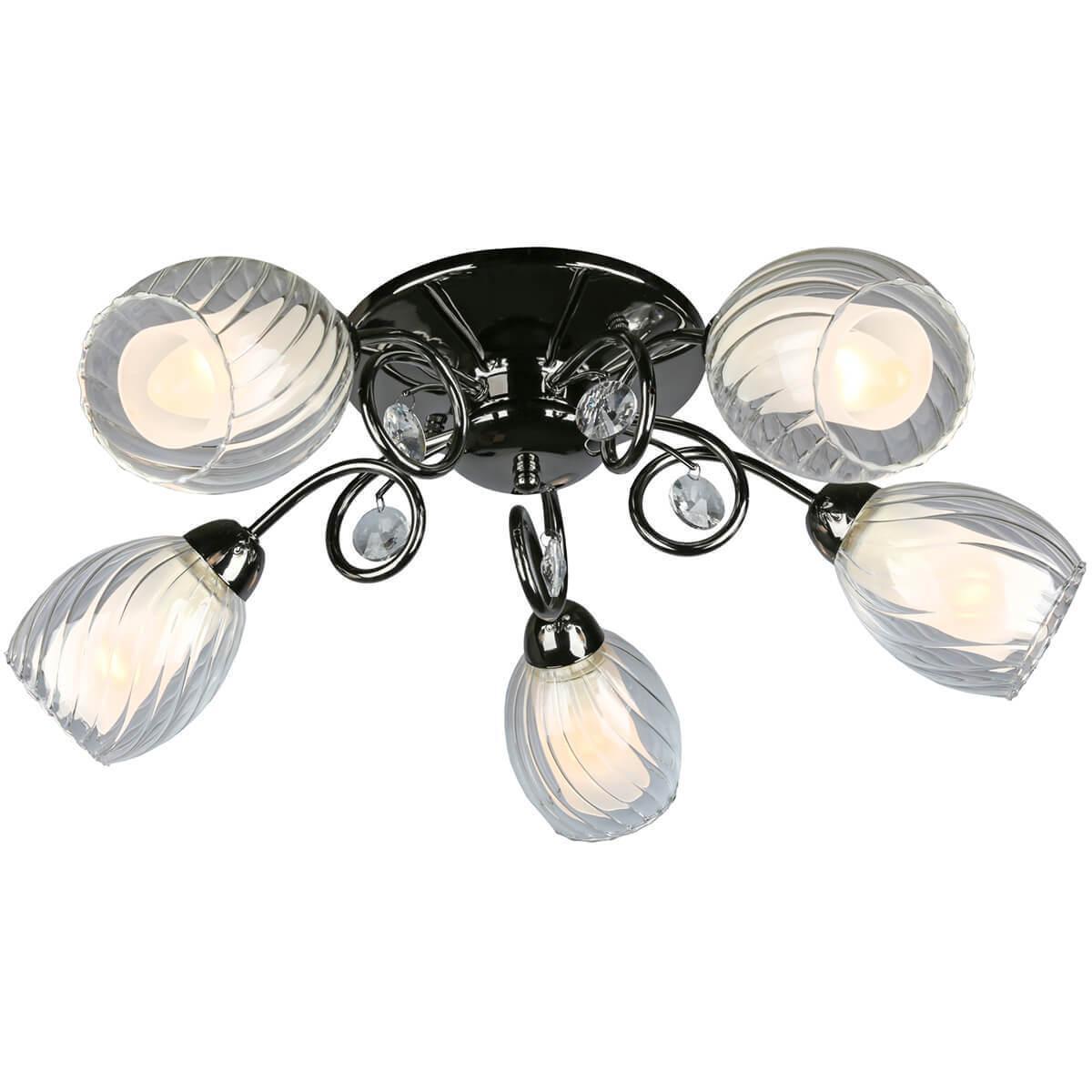 Потолочный светильник Omnilux OML-31607-05, E14, 60 Вт