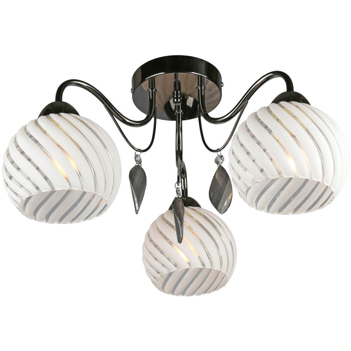 Потолочный светильник Omnilux OML-31707-03, E27, 60 Вт