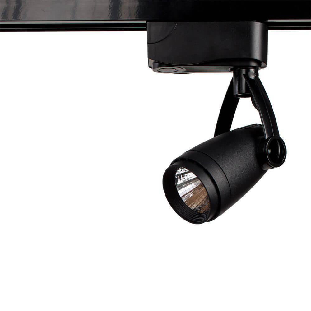 Трековый светильник Arte Lamp A5910PL-1BK, LED, 10 Вт светильник arte lamp track lights a5910pl 1bk 1х10вт led