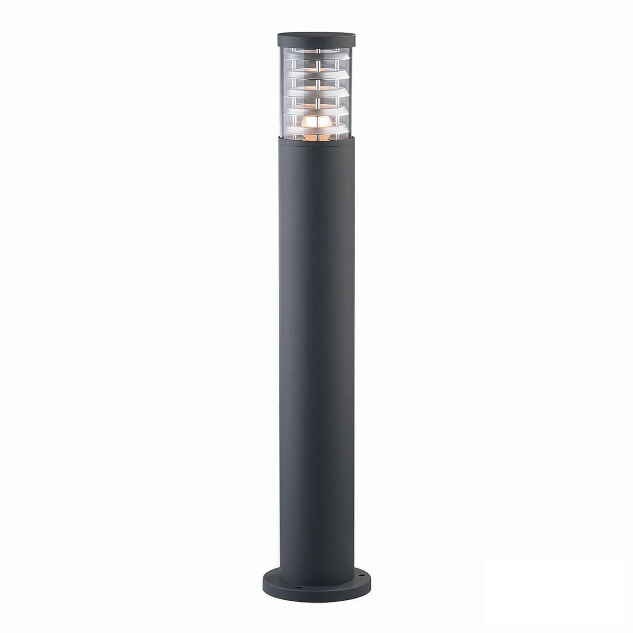 Уличный светильник Ideal Lux Tronco PT1 Big Nero, E27 люстра ideal lux opera nero opera sp6 nero