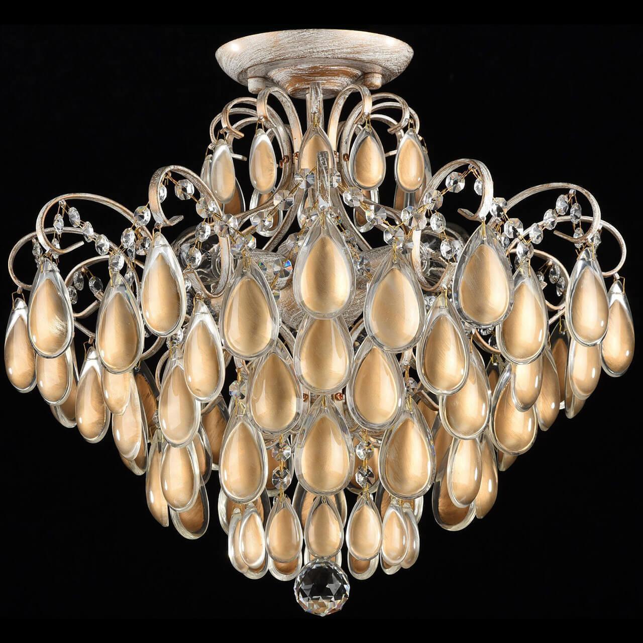 Потолочный светильник Freya FR2302-CL-04-WG, E14, 40 Вт потолочная люстра freya fr2302 cl 04 wg