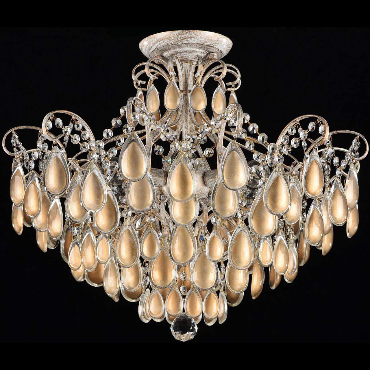 Потолочный светильник Freya FR2302-CL-06-WG, E14, 40 Вт потолочная люстра freya fr2302 cl 04 wg