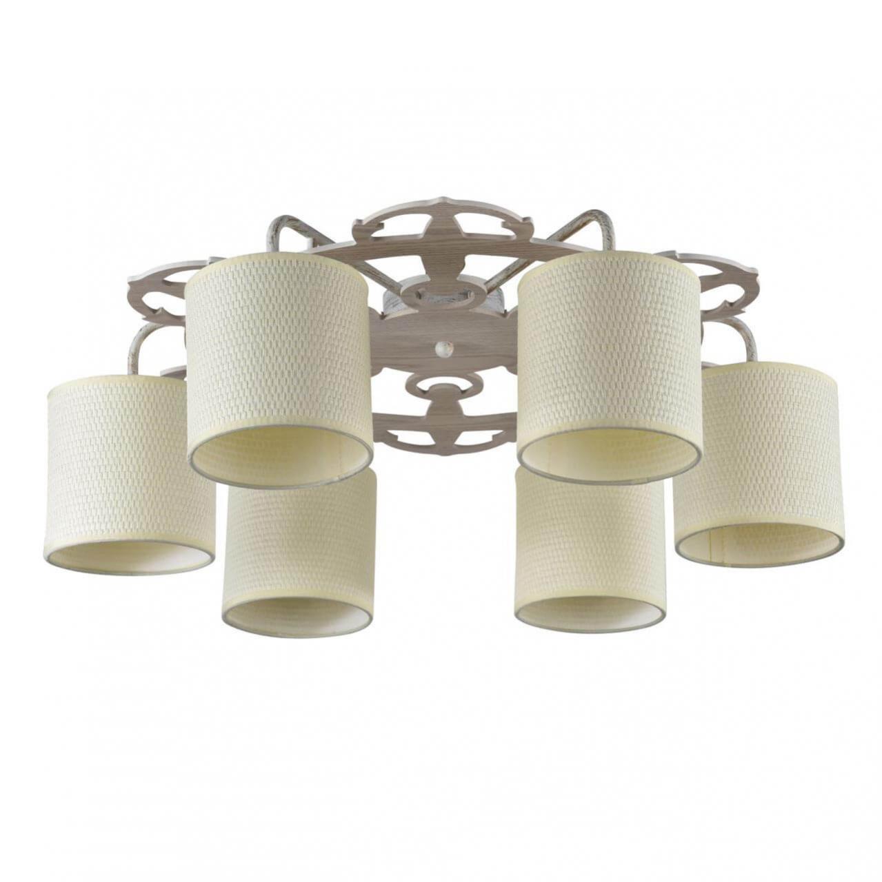 Потолочный светильник Freya FR5100-CL-06-WG, E14, 40 Вт потолочная люстра freya fr5100 cl 06 br