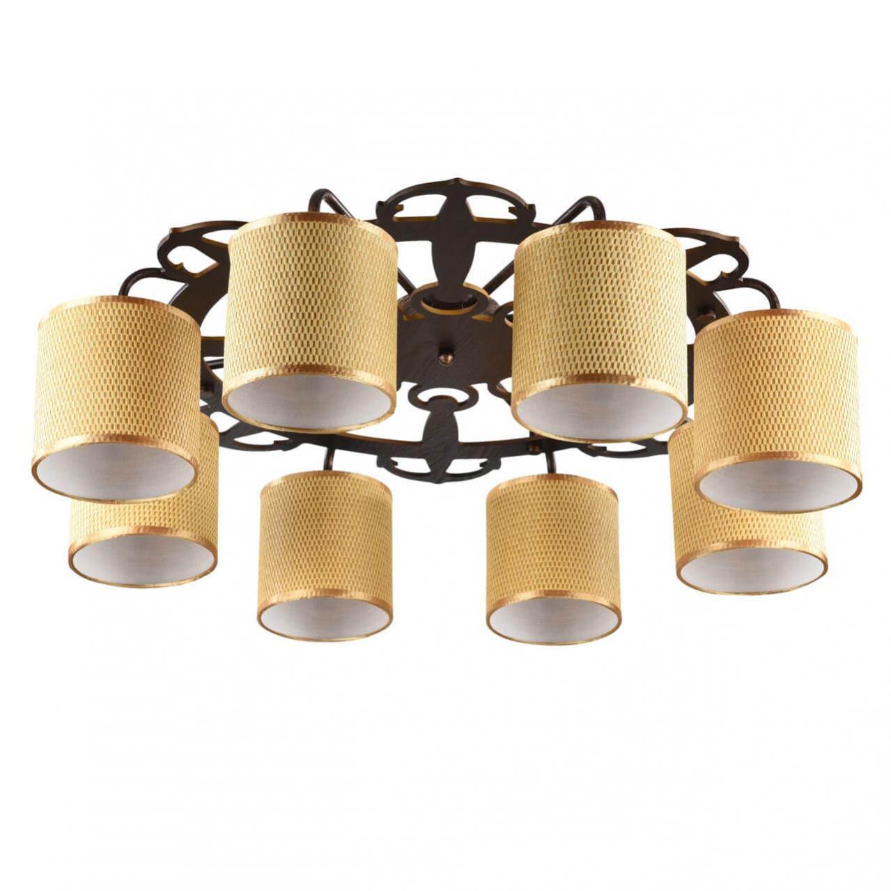 Потолочный светильник Freya FR5100-CL-08-BR, E14, 40 Вт потолочная люстра freya fr5100 cl 08 br
