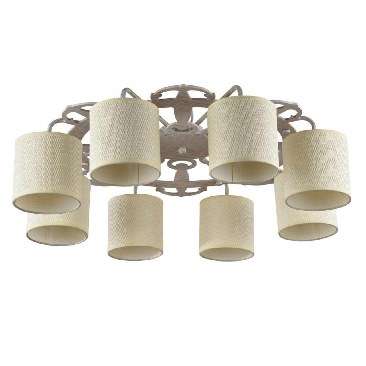 Потолочный светильник Freya FR5100-CL-08-WG, E14, 40 Вт потолочная люстра freya fr5100 cl 06 br