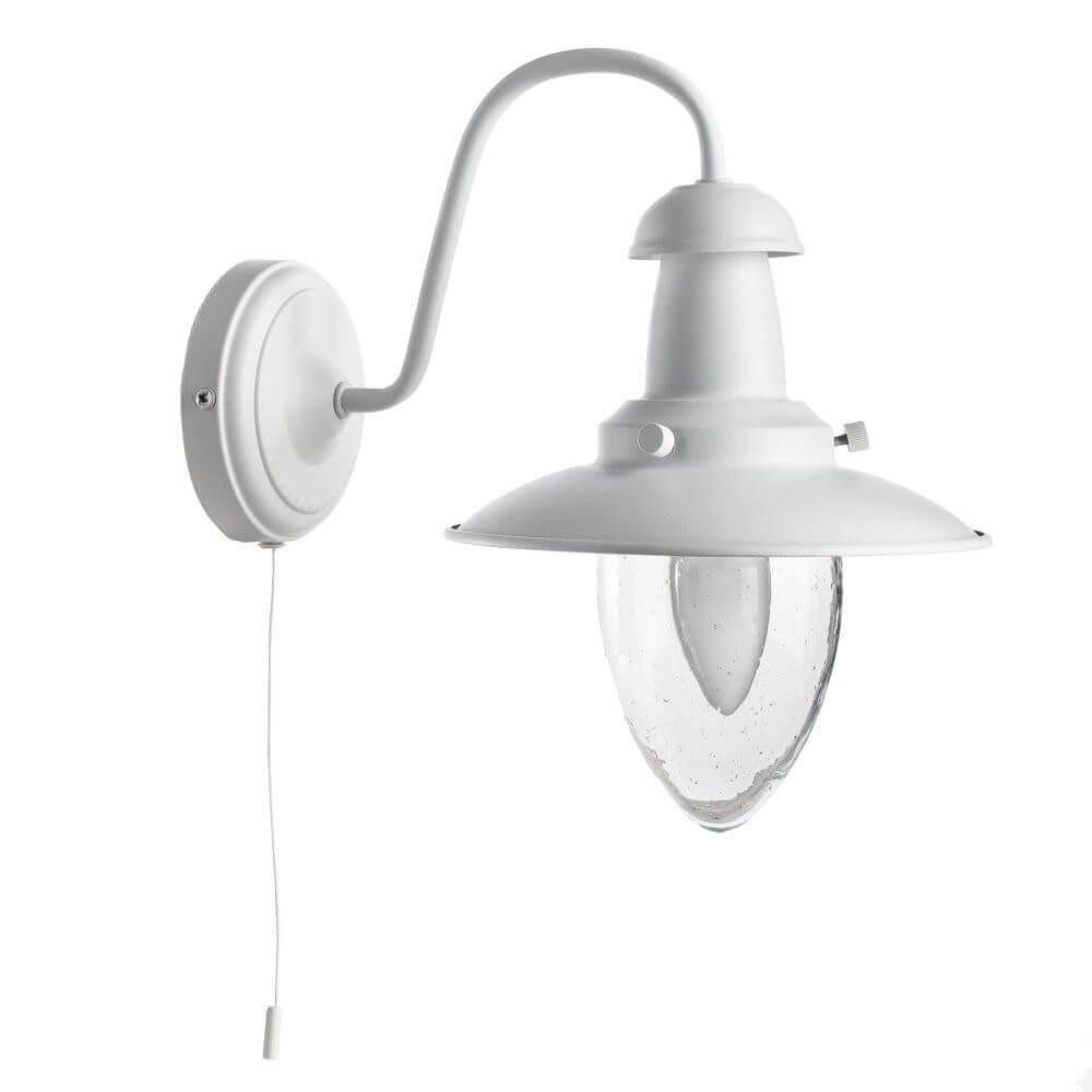 лучшая цена Бра Arte Lamp A5518AP-1WH, E27, 60 Вт