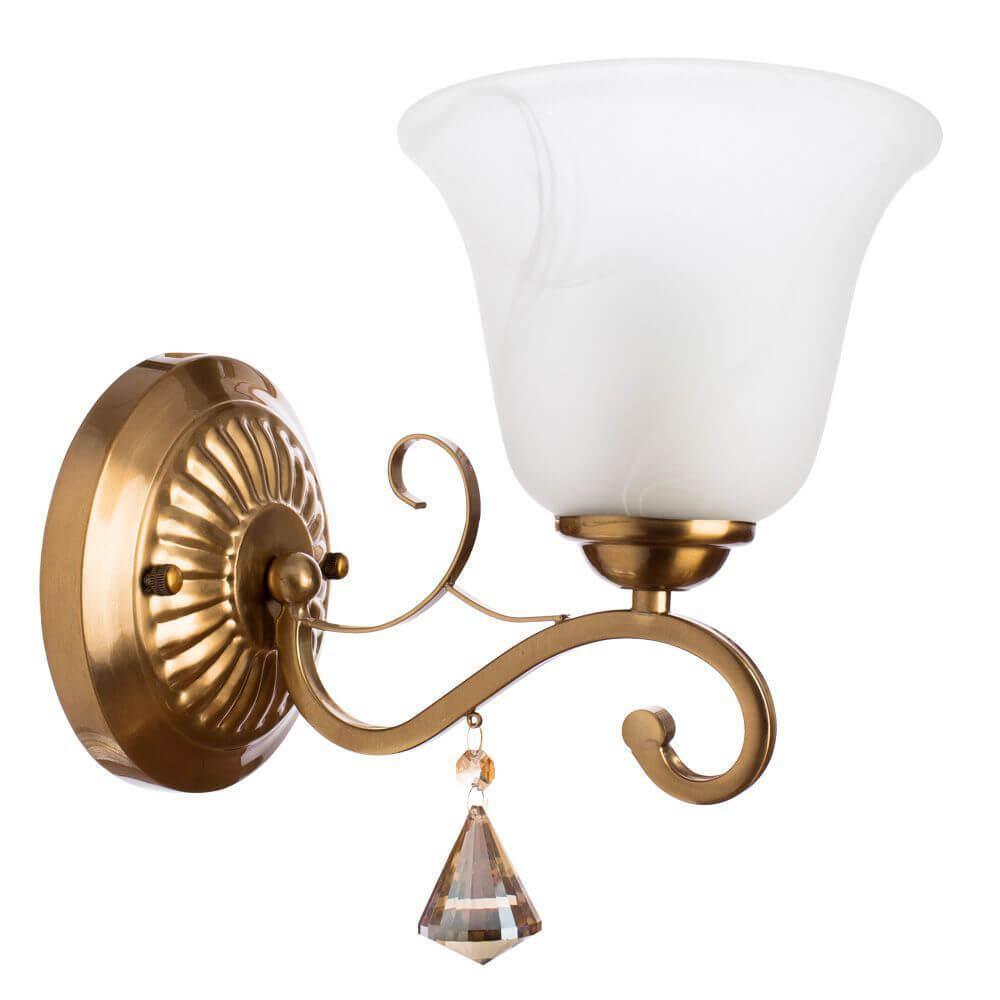 Бра Arte Lamp A8391AP-1PB, E27, 60 Вт цена