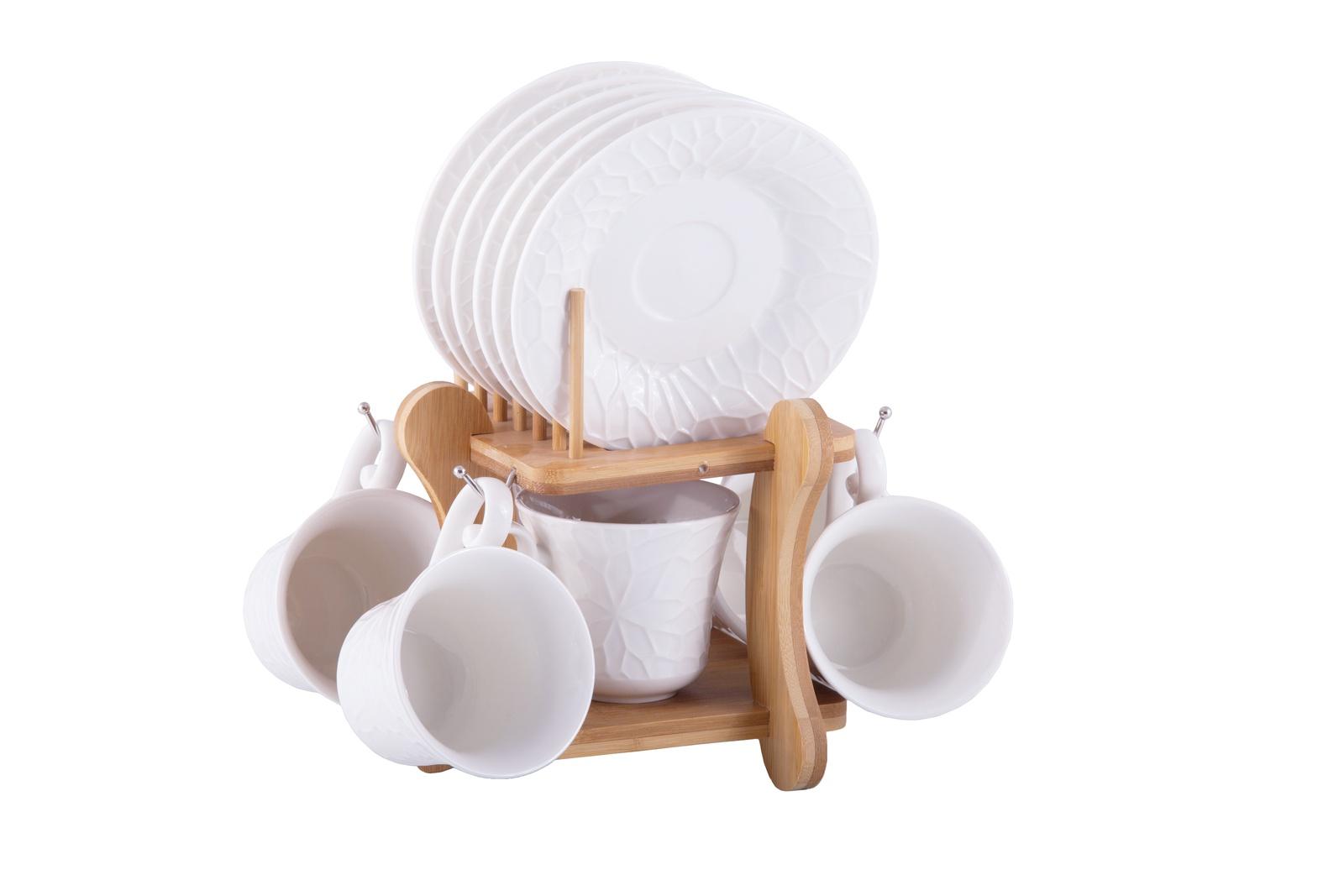 Фото - Набор чайный JEWEL Pumpkin 12 предметов (фарфор), 6 шт/уп [супермаркет] jingdong геб scybe фил приблизительно круглая чашка установлена в вертикальном положении стеклянной чашки 290мла 6 z