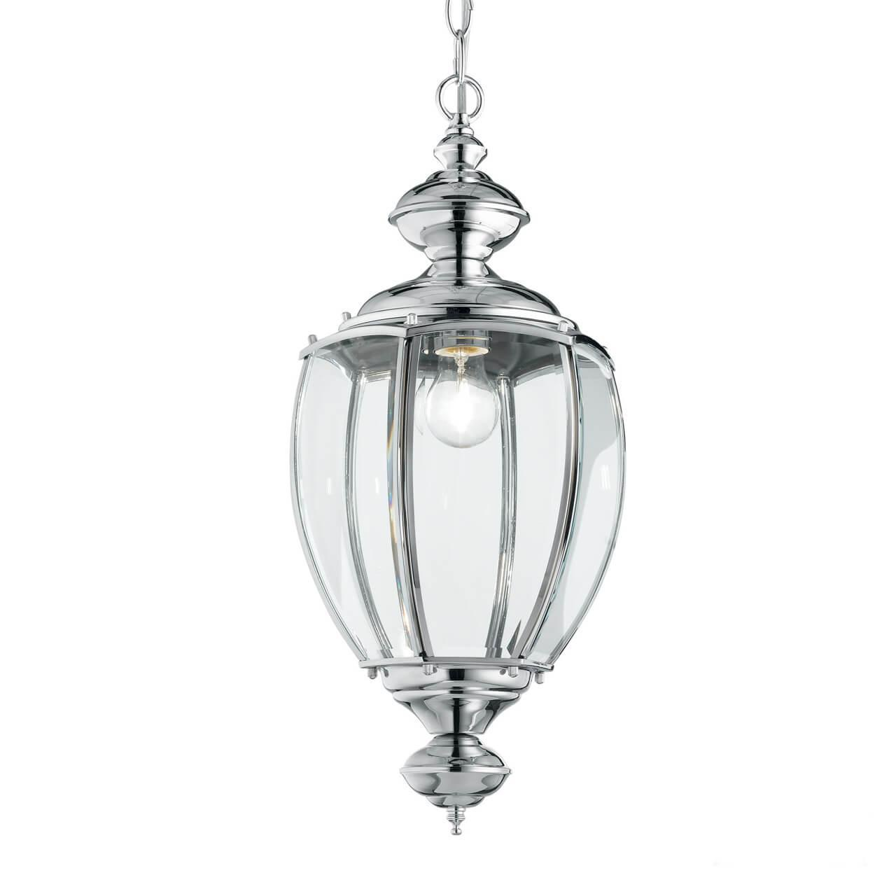 Подвесной светильник Ideal Lux Norma SP1 Cromo, E27, 60 Вт ideal lux подвесной светодиодный светильник ideal lux fluo wide 1200 4000k white