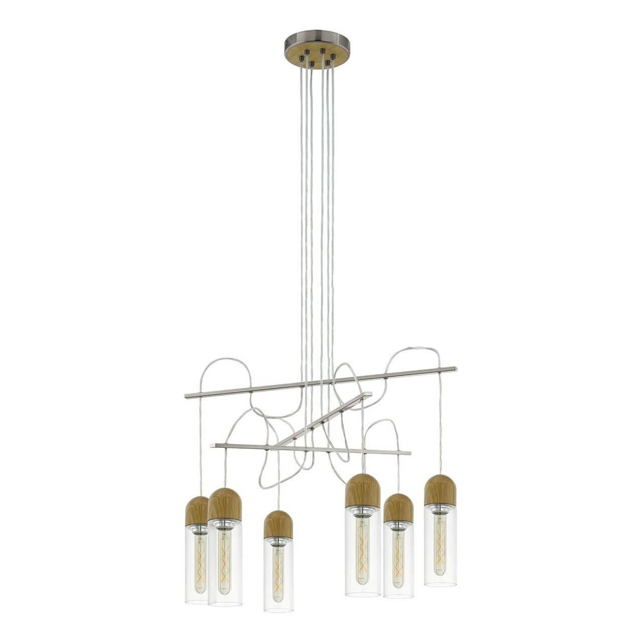 Подвесной светильник Eglo 96946, E27, 4 Вт подвесной светодиодный светильник eglo zacharo 1 96944