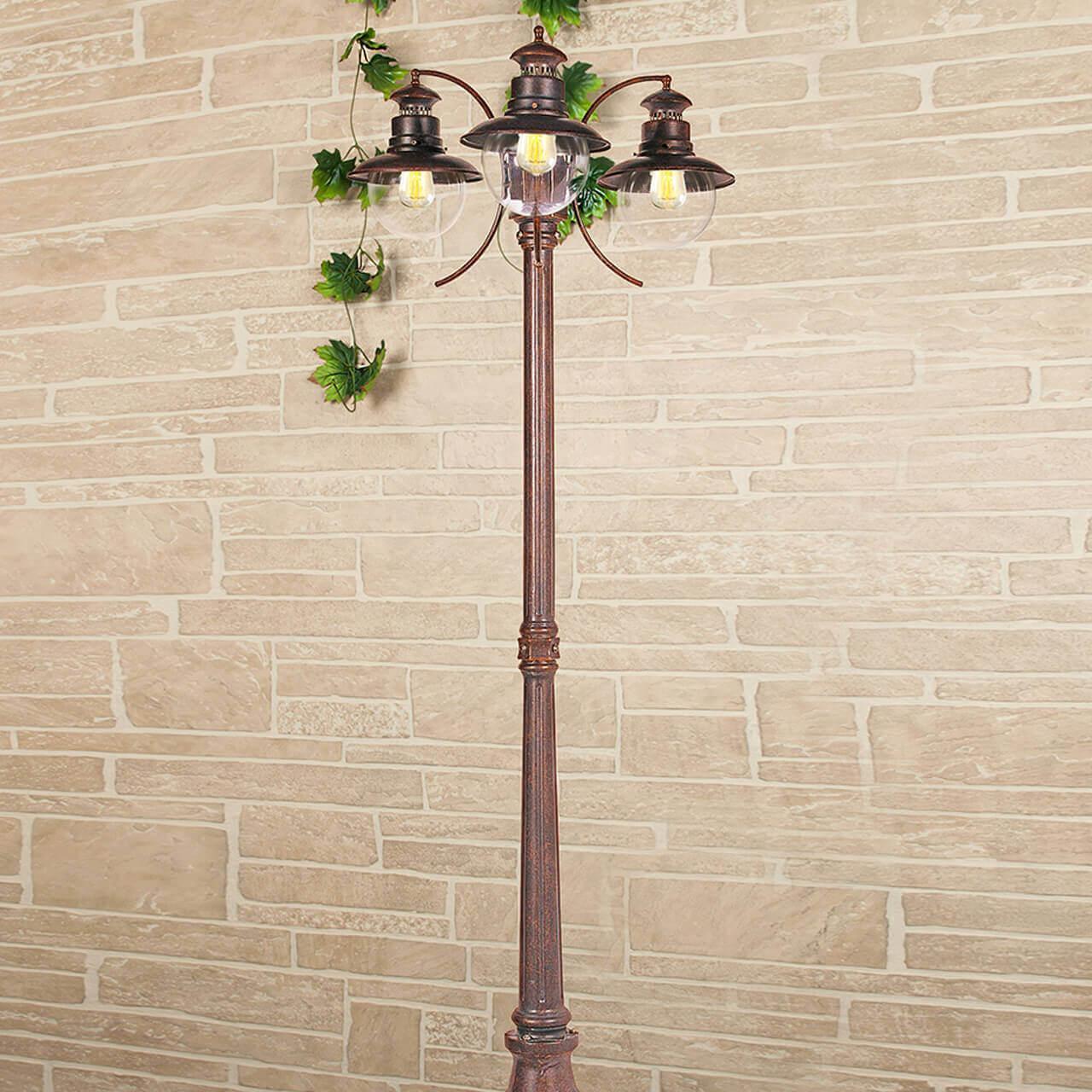 Уличный светильник Elektrostandard 4690389106620, E27 фонарный столб talli f 3 gl 3002f 3 брауни