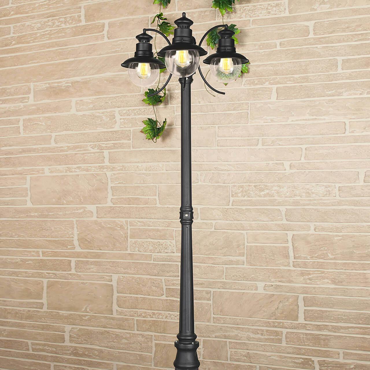 Уличный светильник Elektrostandard 4690389106637, E27 фонарный столб talli f 3 gl 3002f 3 брауни