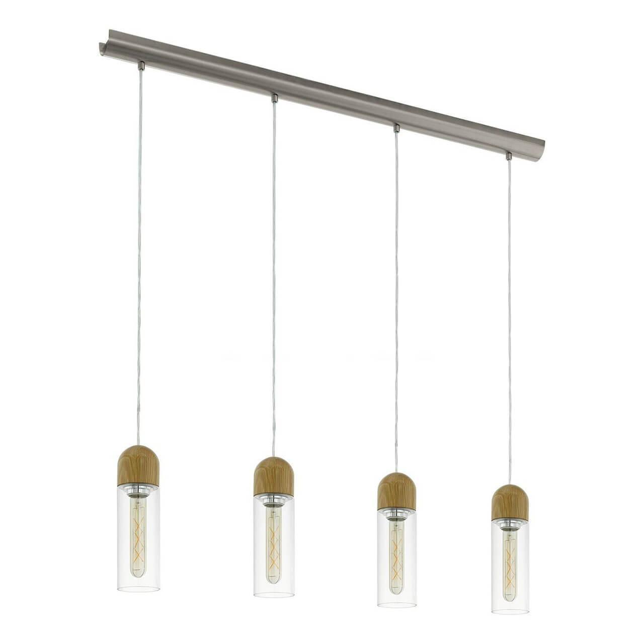 Подвесной светильник Eglo 96945, E27, 4 Вт подвесной светодиодный светильник eglo zacharo 1 96944