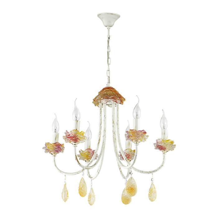 Подвесной светильник Odeon Light 3938/6, E14, 40 Вт подвесная люстра odeon 3938 9