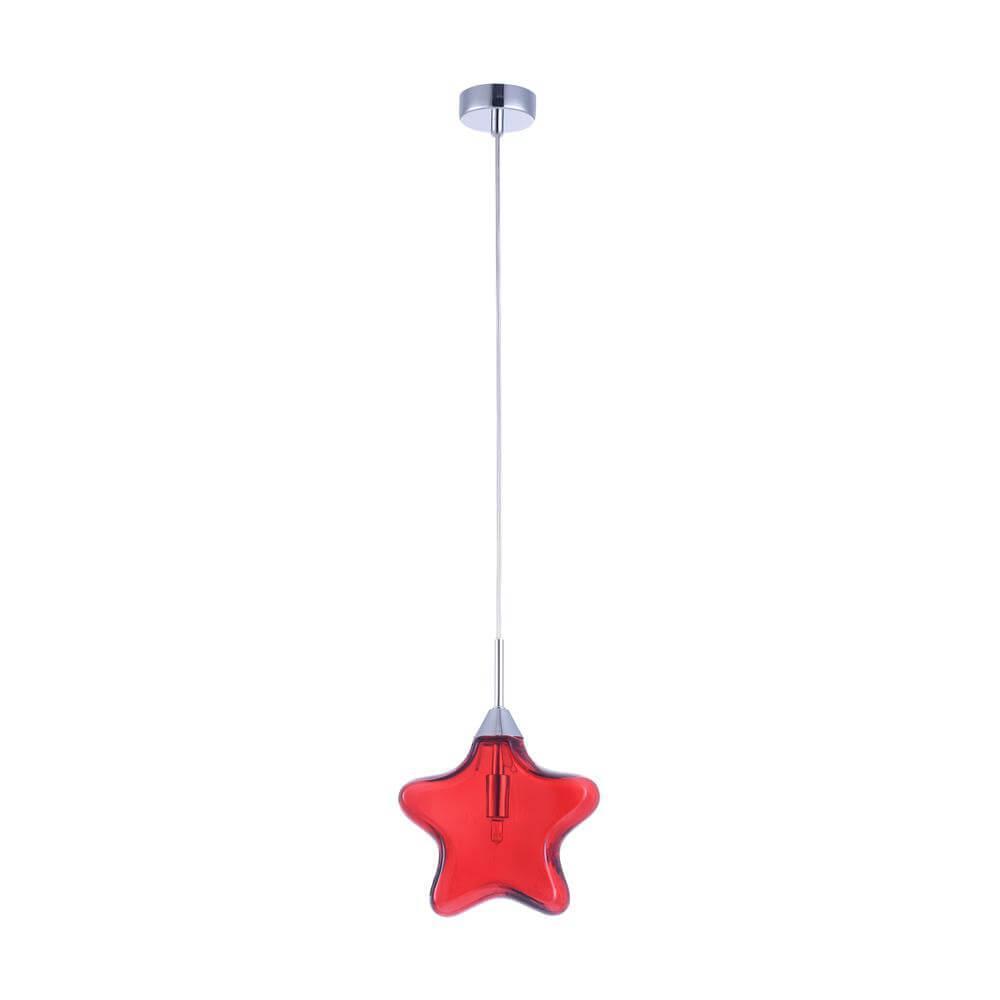 Подвесной светильник Maytoni MOD242-PL-01-R, G9, 28 Вт светильник maytoni star mod242 pl 01 r